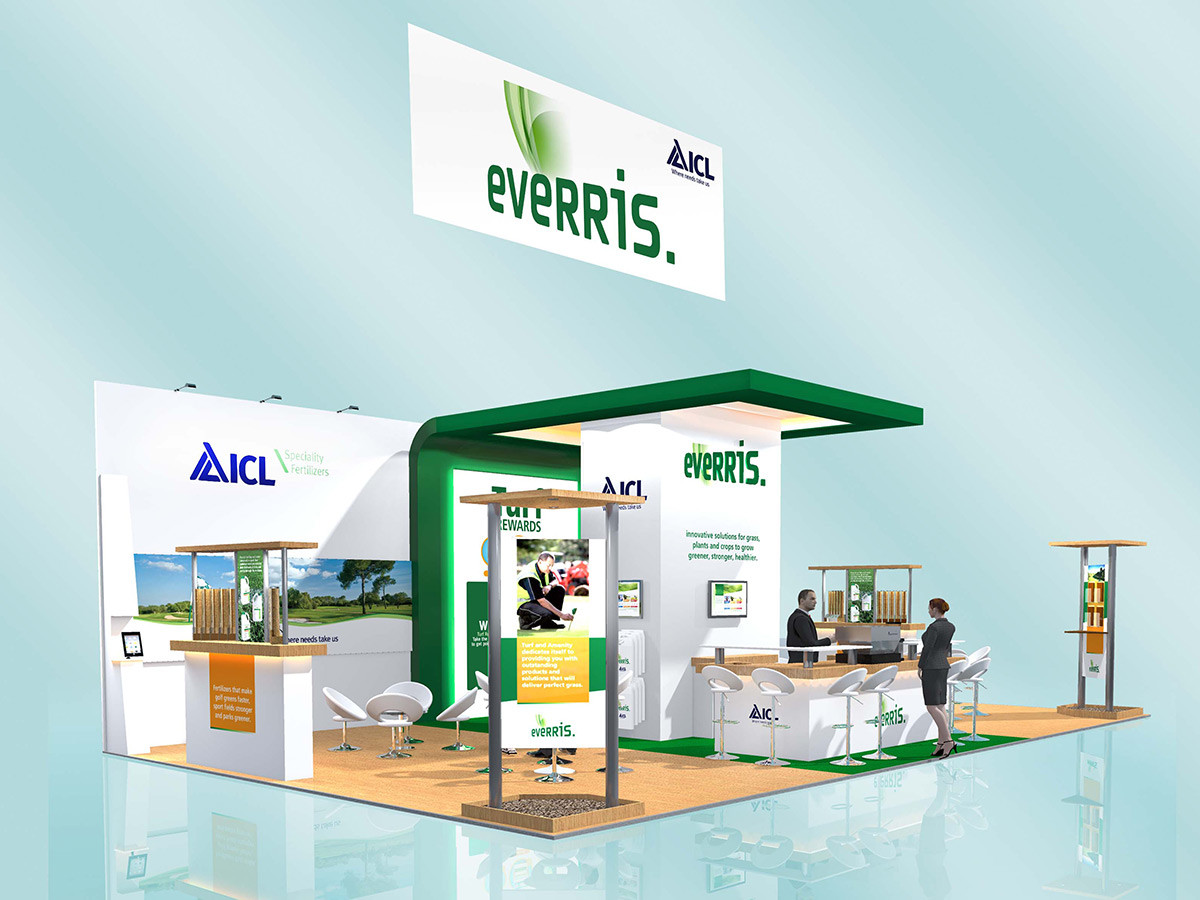 Custom Exhibition Stand Design Everris