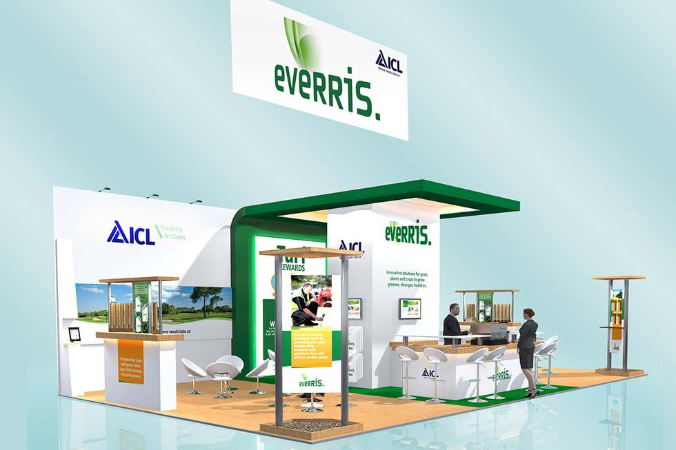 Custom Exhibition Stand Design Everris