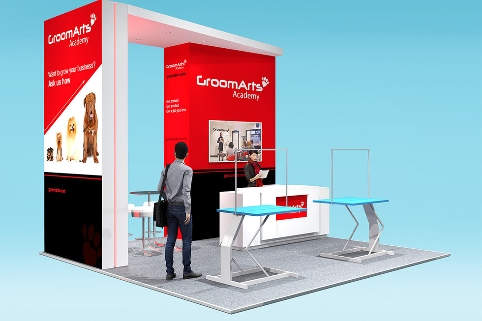Bespoke Exhibition Stand Design GroomArts