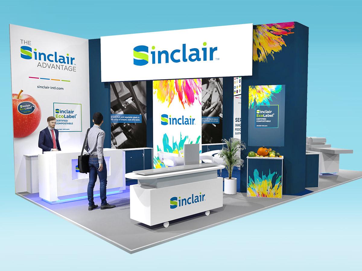 Modern Exhibition Stand Design Sinclair