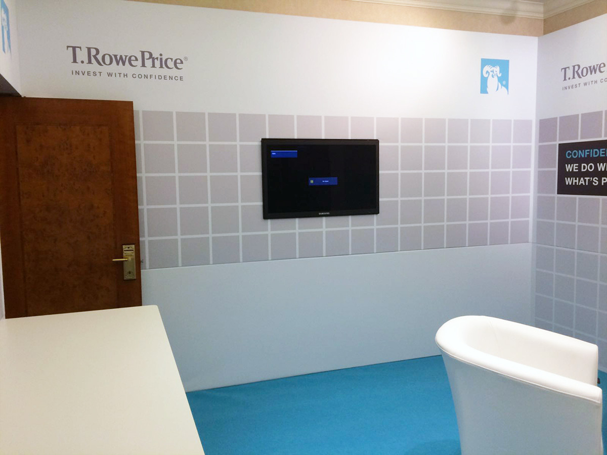 Integrated Digital Display for T Rowe Price