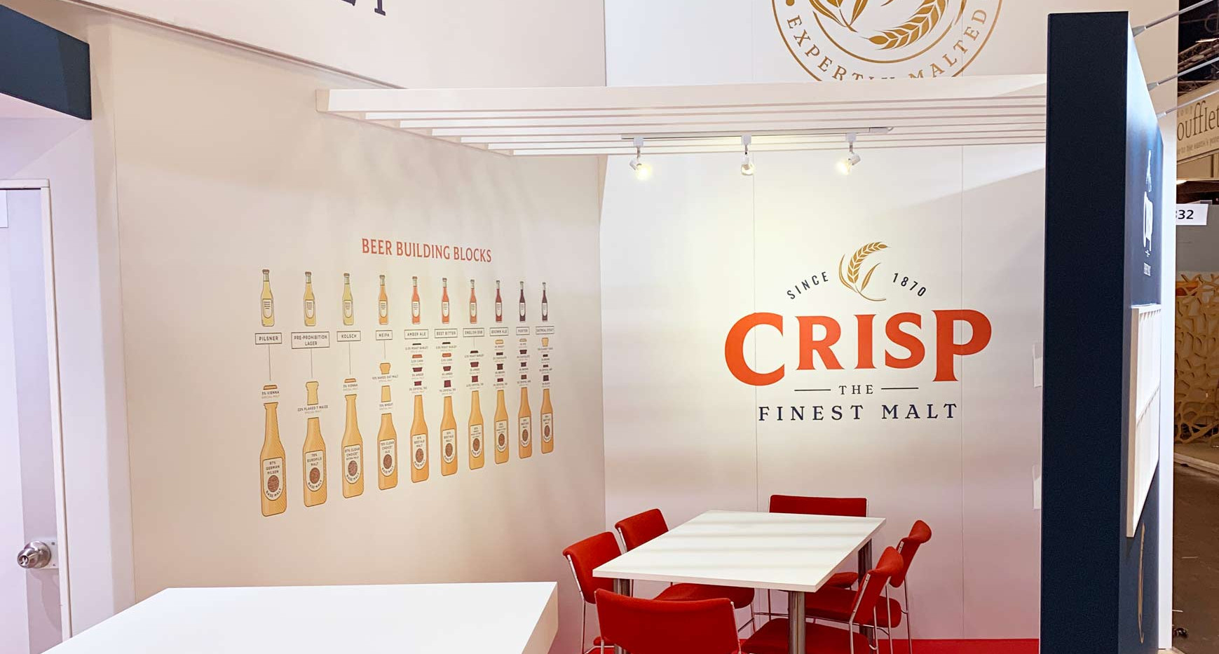 Exhibition Stand Meeting Space Crisp Brau Beviale 2019