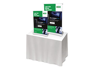 A4 and A3 Banner Stands from Image Display and Graphics
