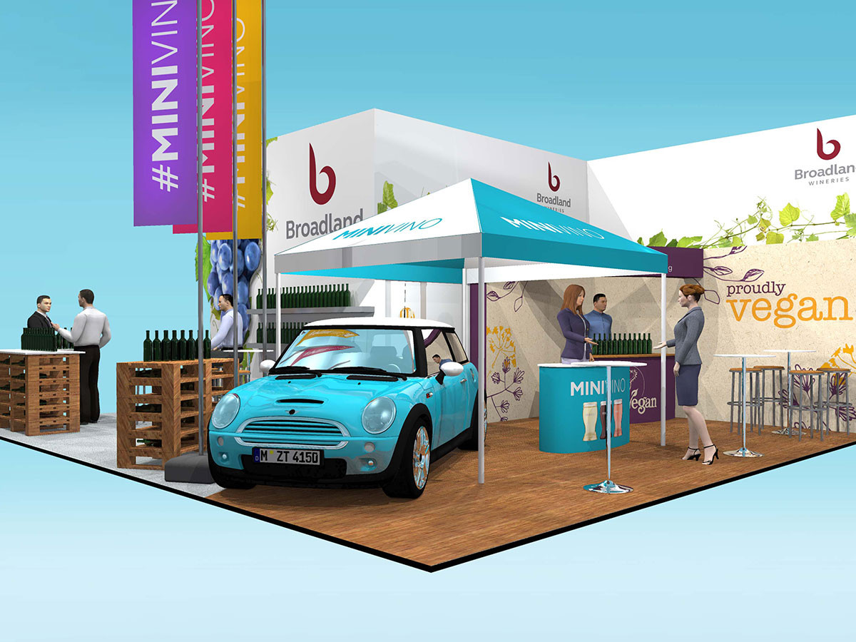 Multi Brand Event Display Designs Broadland Wines