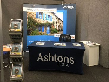 Portable Event Display Kit Ashtons Legal Solicitors