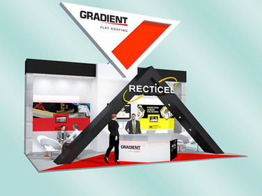 Gradient & Recticel Exhibition Stand Design Concept