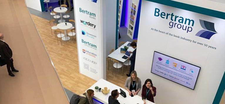 Custom Exhibition Stand Design and Build Bertram Group London Book Fair 2019