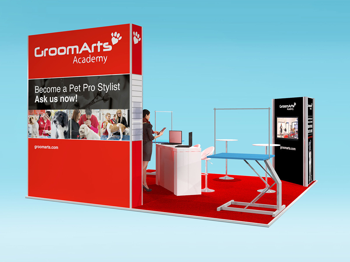 GroomArts modular Exhibition Stand Design
