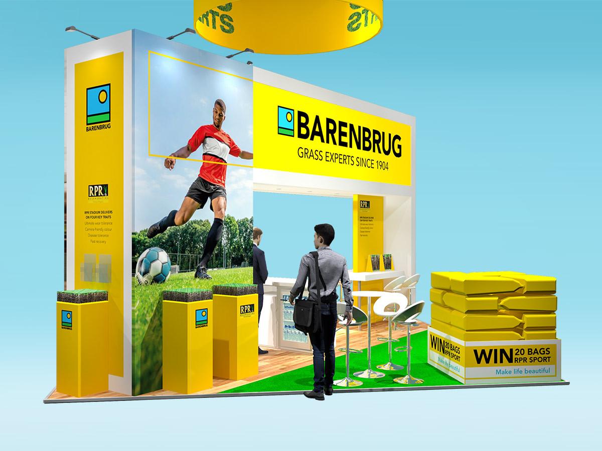 Barenbrug Exhibition Stand Design Concept 2019