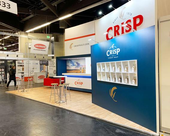 Custom Exhibition Stand Display Crisp at Brau Beviale 2019