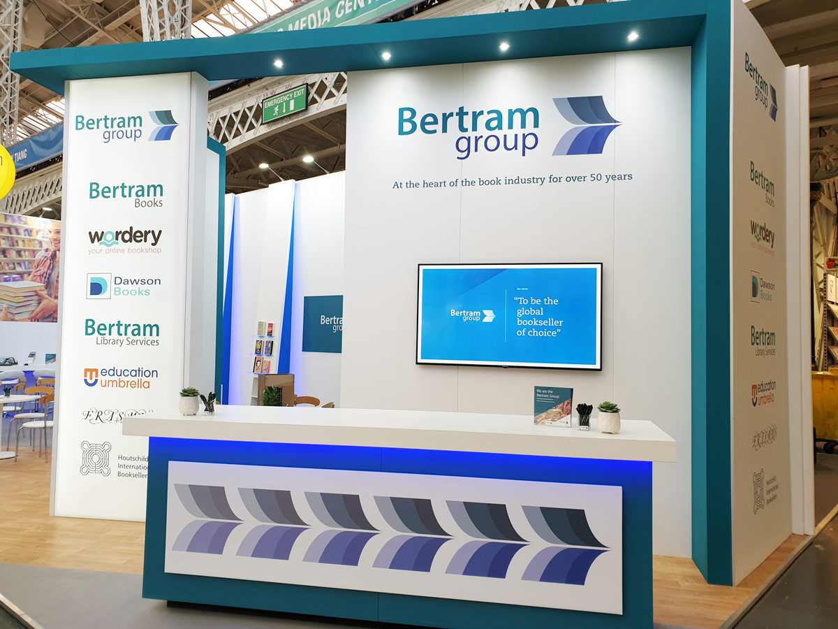 Custom Exhibition Stand Reception Area LBF19