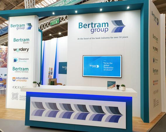 Custom Exhibition Stand Reception Area LBF19