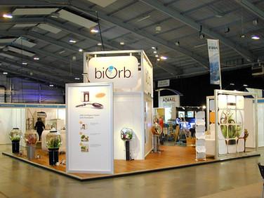Custom Modular Exhibition Stand - BiOrb at Interzoo Nuremburg