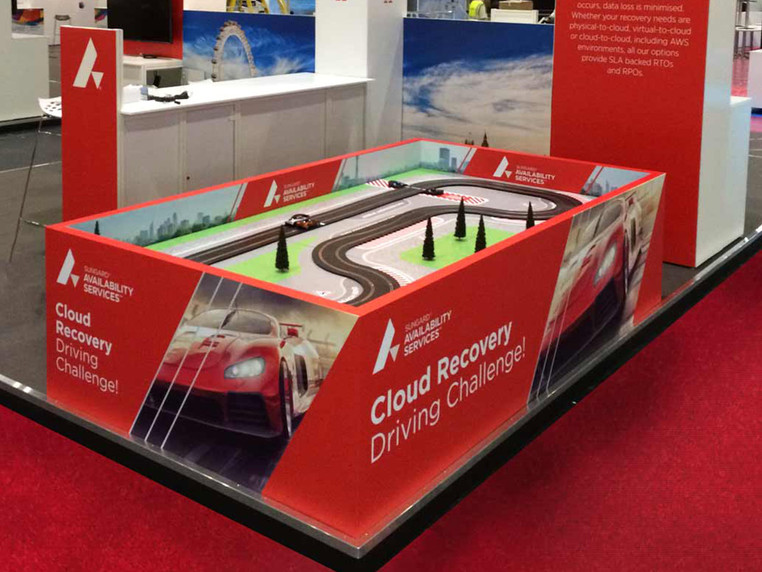 Sungard Portable It Resilience Scalextric Brand Experience