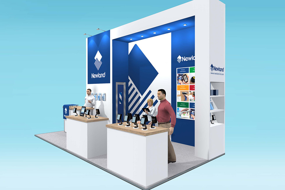 Exhibition Stand Design Concept