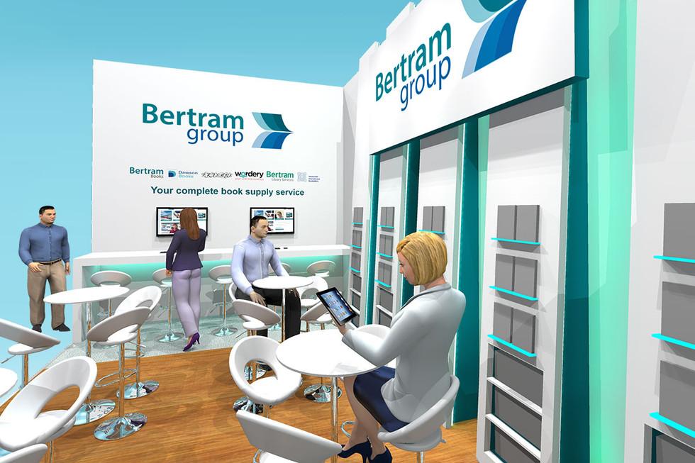 Exhibition Stand Design Concept Bertram Group