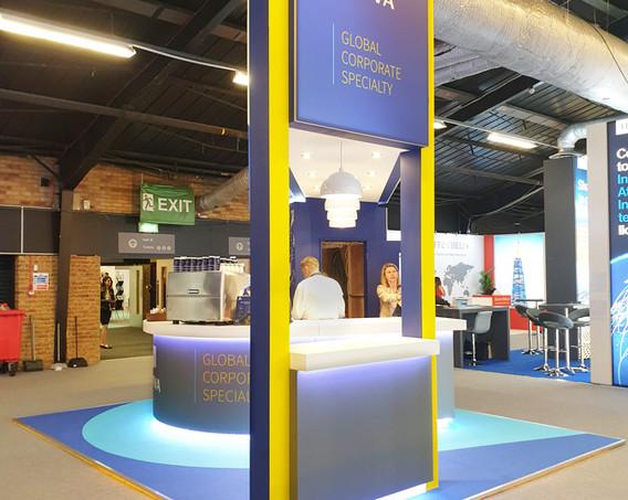 Unique Exhibition Stand Structure Aviva Airmic 2019