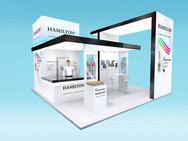 Hamilton Exhibition Stand Design Concept
