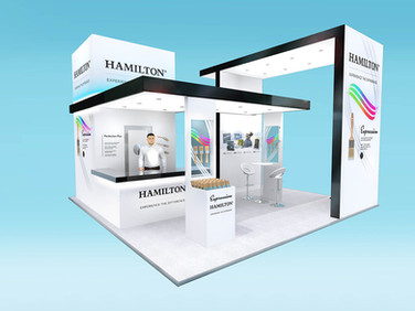 Hamilton Exhibition Stand Design Concept
