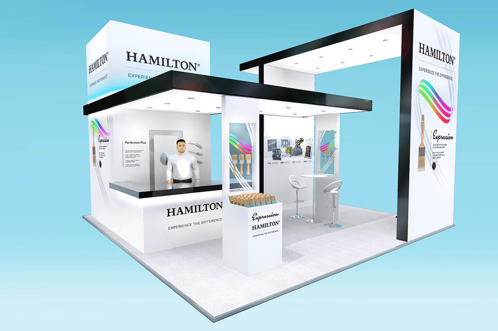Custom Exhibition Stand Design Hamilton