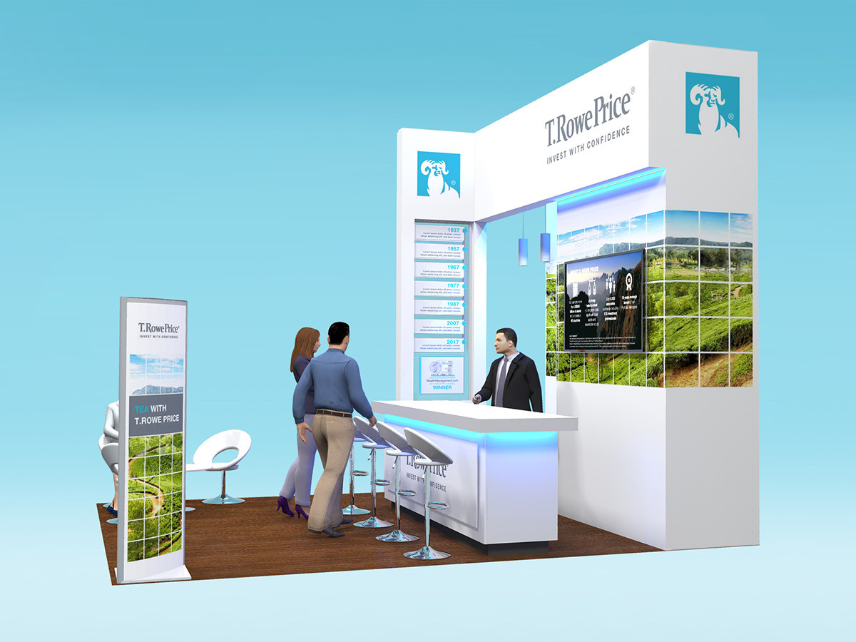 Exhibition Stand Design Concept T Rowe Price