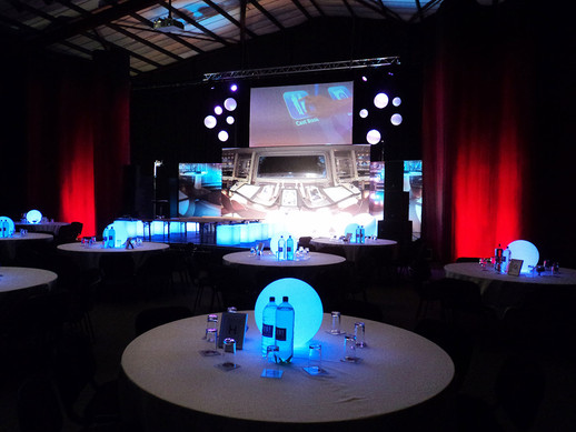 Custom Event and Conference Set-up