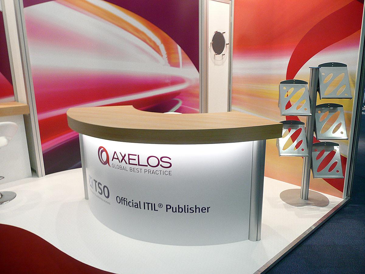 Exhibition Stand Counter - Axelos