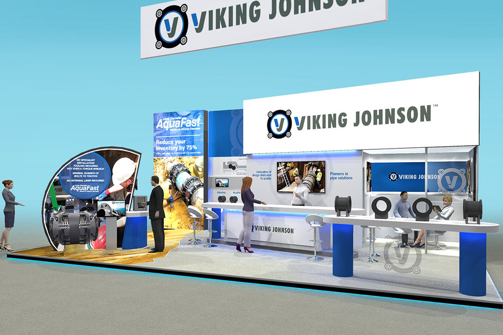 Exhibition Stand Design Viking Johnson