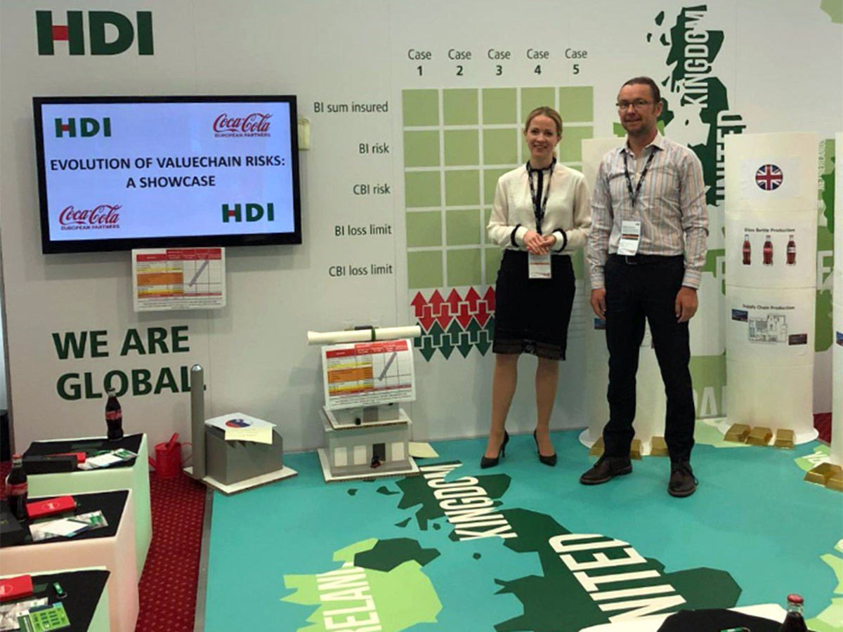 HDI and Coca-Cola Brand Experience and Workshop Set at Airmic 2019