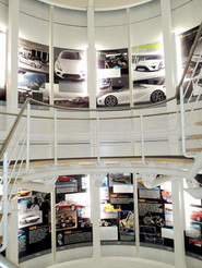 Motorsport and Racing Themed Interior Fit Out