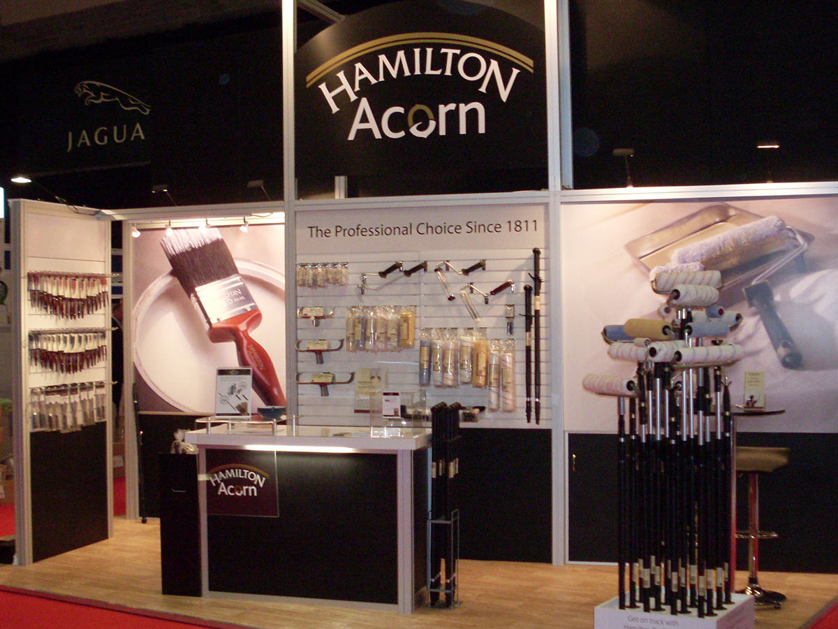 modualr exhibition stand Hamilton Acorn