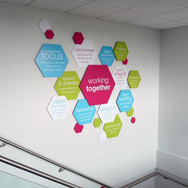 3D Wall Graphics with Stand Off Fixings