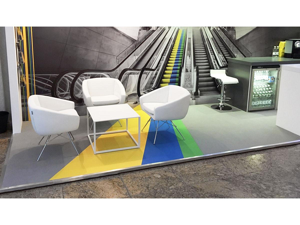 Exhibition Stand Floor Feature - Aviva investors