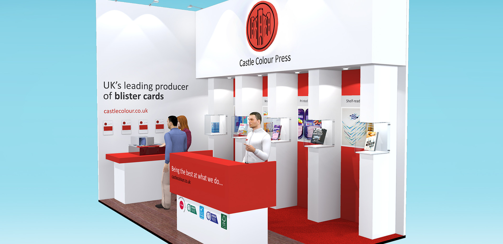 Exhibition Stand Design Castle Colour