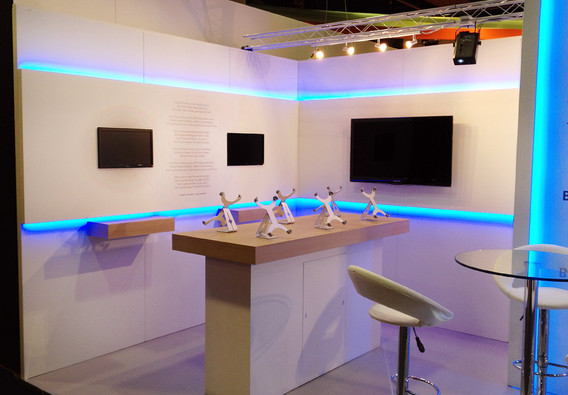 Exhibition Stand Digitial Displays TSO Modular Stand