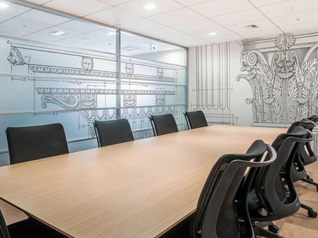 Architects Office Boardoom Fit Out and Wall Graphics
