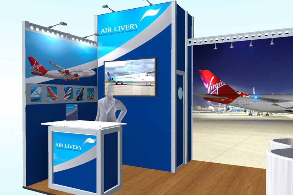 Exhibition Stand Design Air Livery