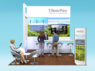 T Rowe Price Exhibition Stand Design Concept