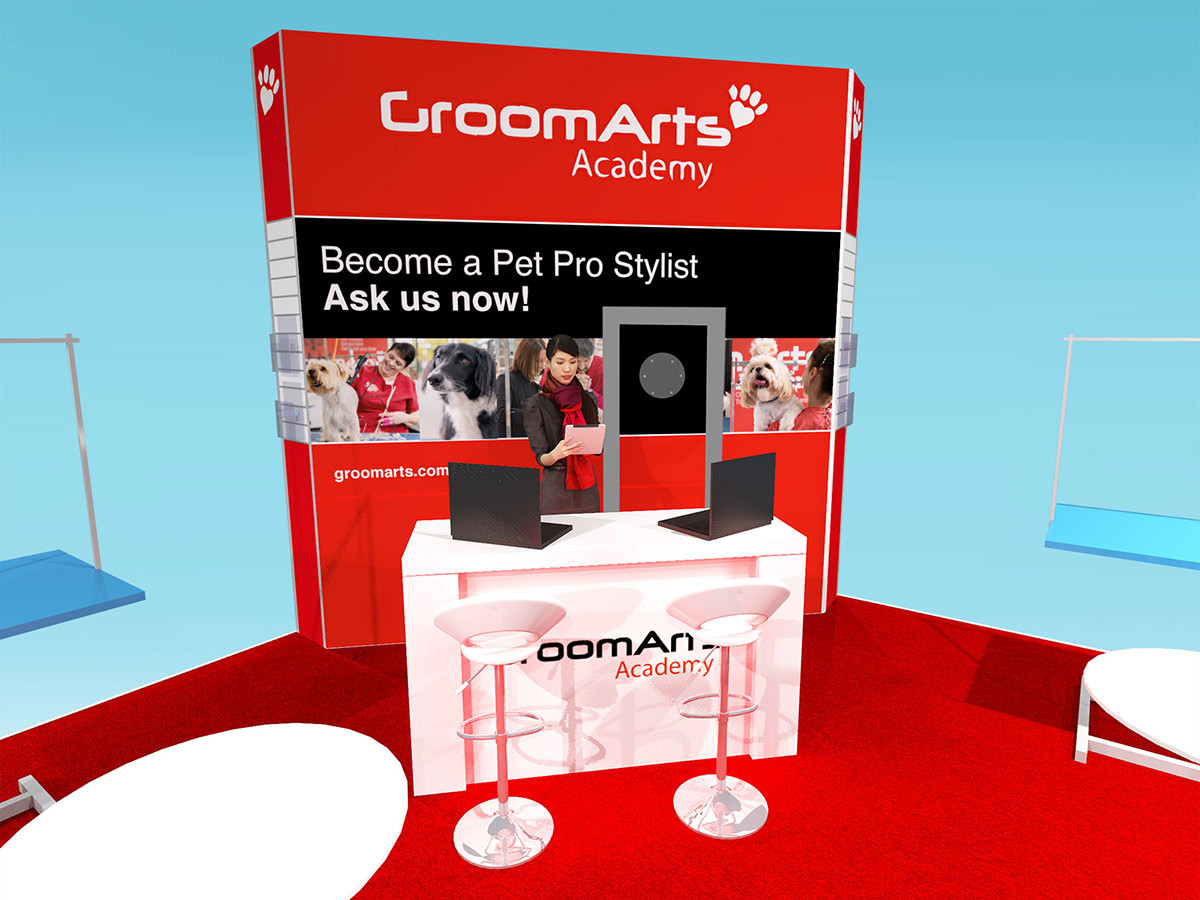 Central Structure Exhibition Stand Design Concept AgroomArts