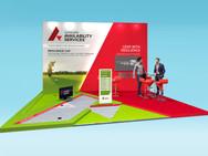 Sungard Glitch & Putt Exhibition Stand Design Concept