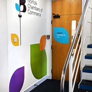Norfolk Chambers of Commerce - Office Interior Graphics