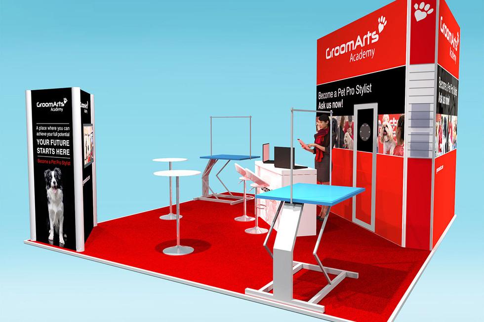Modular Exhibition Stand Design GroomArts