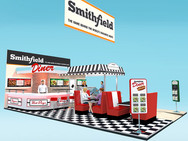 Smithfield Diner Exhibition Stand Design Concept