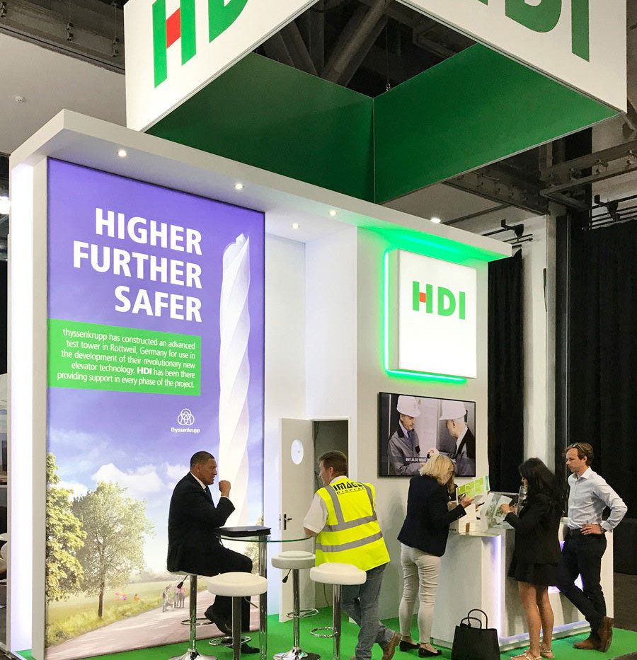 Exhibition Stand Build Services HDI at Airmic