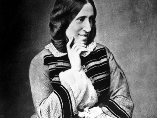 Why was George Eliot's Right Hand Larger than Her Left Hand?