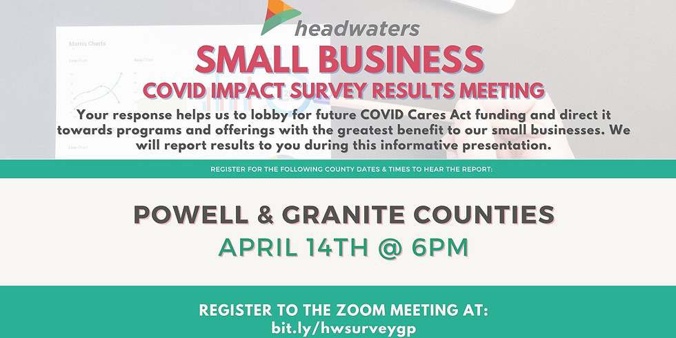 Powell & Granite Counties Small Business COVID Survey Results