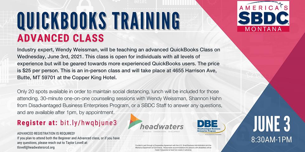 Advanced Quickbooks Training