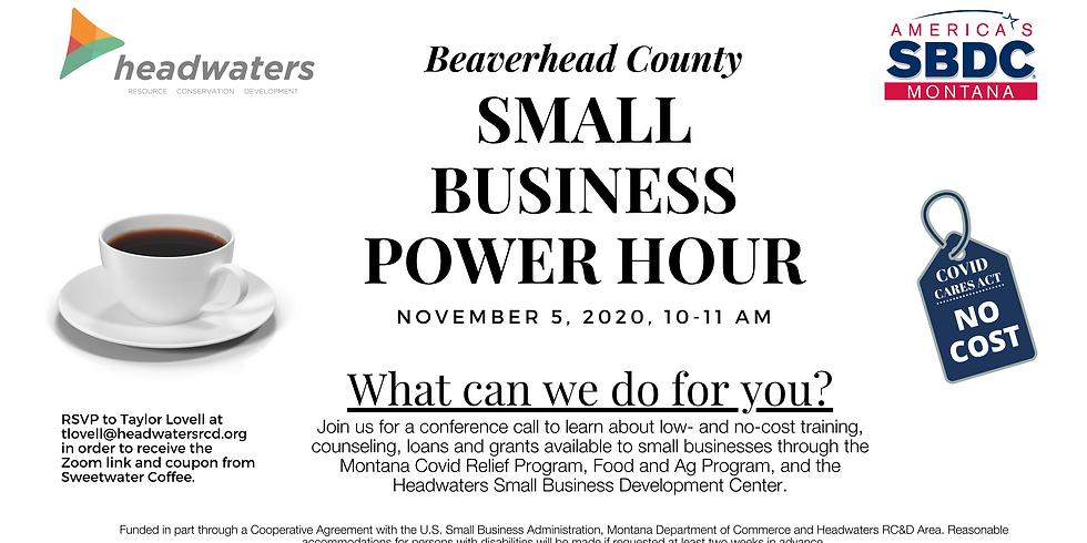 Beaverhead Small Business Power Hour