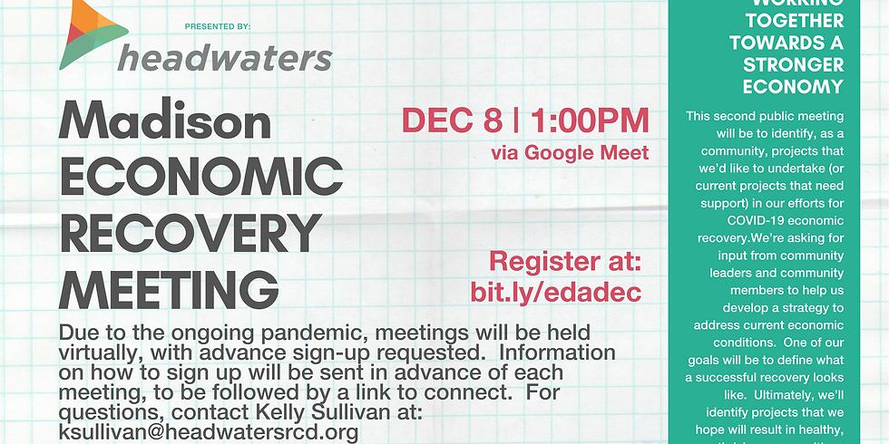 Madison Economic Recovery December Meeting