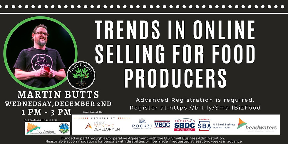 Trends in Online Selling for Food Producers